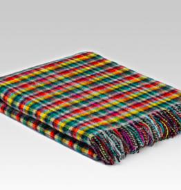 McNutt Irish Wool Blanket - Geranium