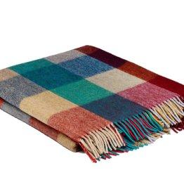 McNutt Irish Wool/ Alpaca Blanket - Urban Block
