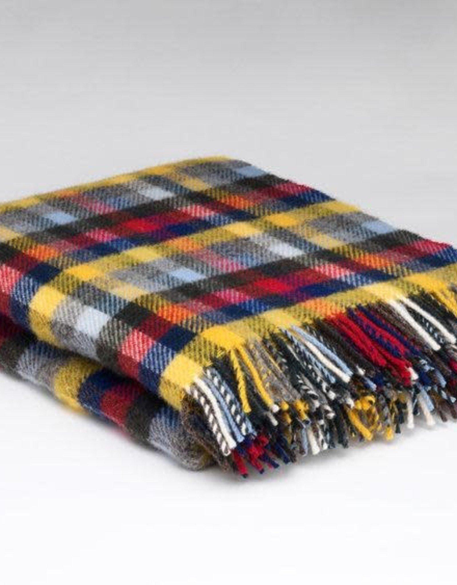 McNutt McNutt Berry Buttercup Wool Blanket