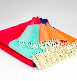 McNutt Irish Wool Blanket - Turkish Delight