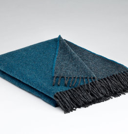 McNutt Irish Wool - Larkspur Blanket