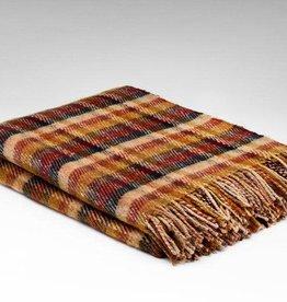 McNutt Irish Wool Blanket - Sunflower & Honey Block