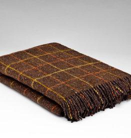 McNutt Irish Wool Blanket - Cabin Multicheck