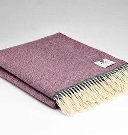 McNutt Irish Wool Blanket - Fruity Berry