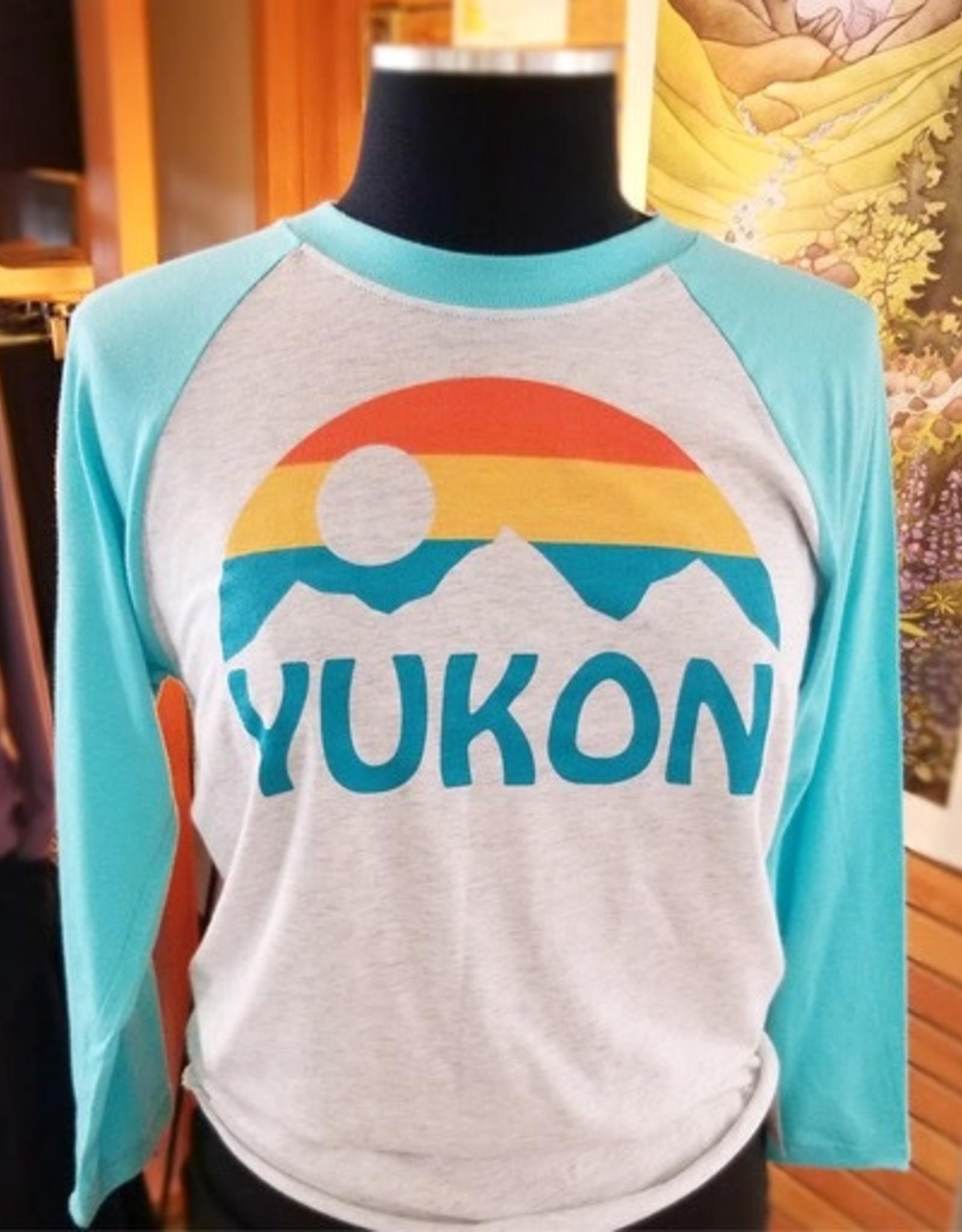 The Collective Good TCG Yukon Sun Baseball Tshirt-Unisex