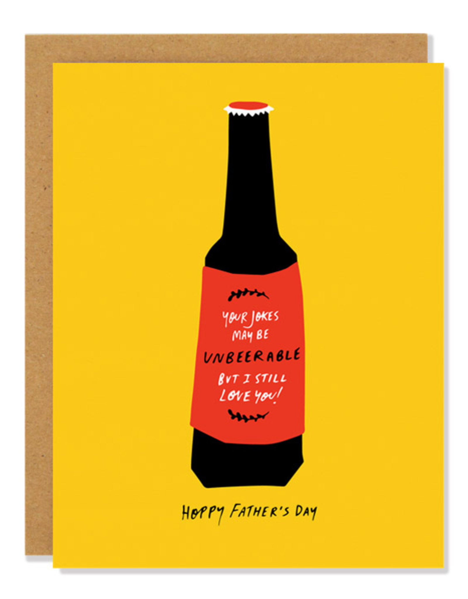 Badger & Burke Badger & Burke Hoppy Fathers Day Card