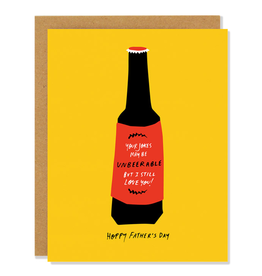 Badger & Burke Hoppy Fathers Day Card