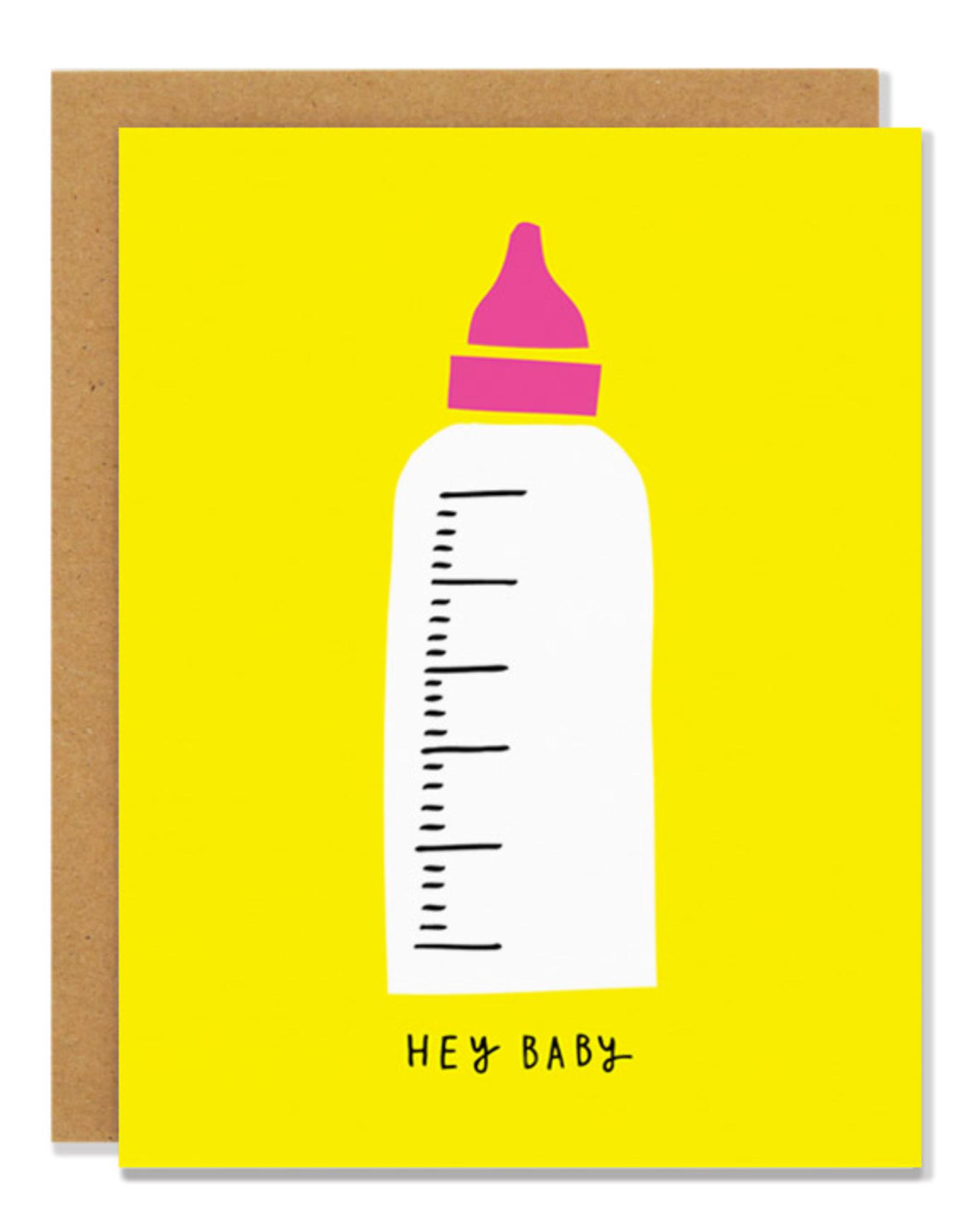 Badger & Burke Badger & Burke Baby Bottle Card