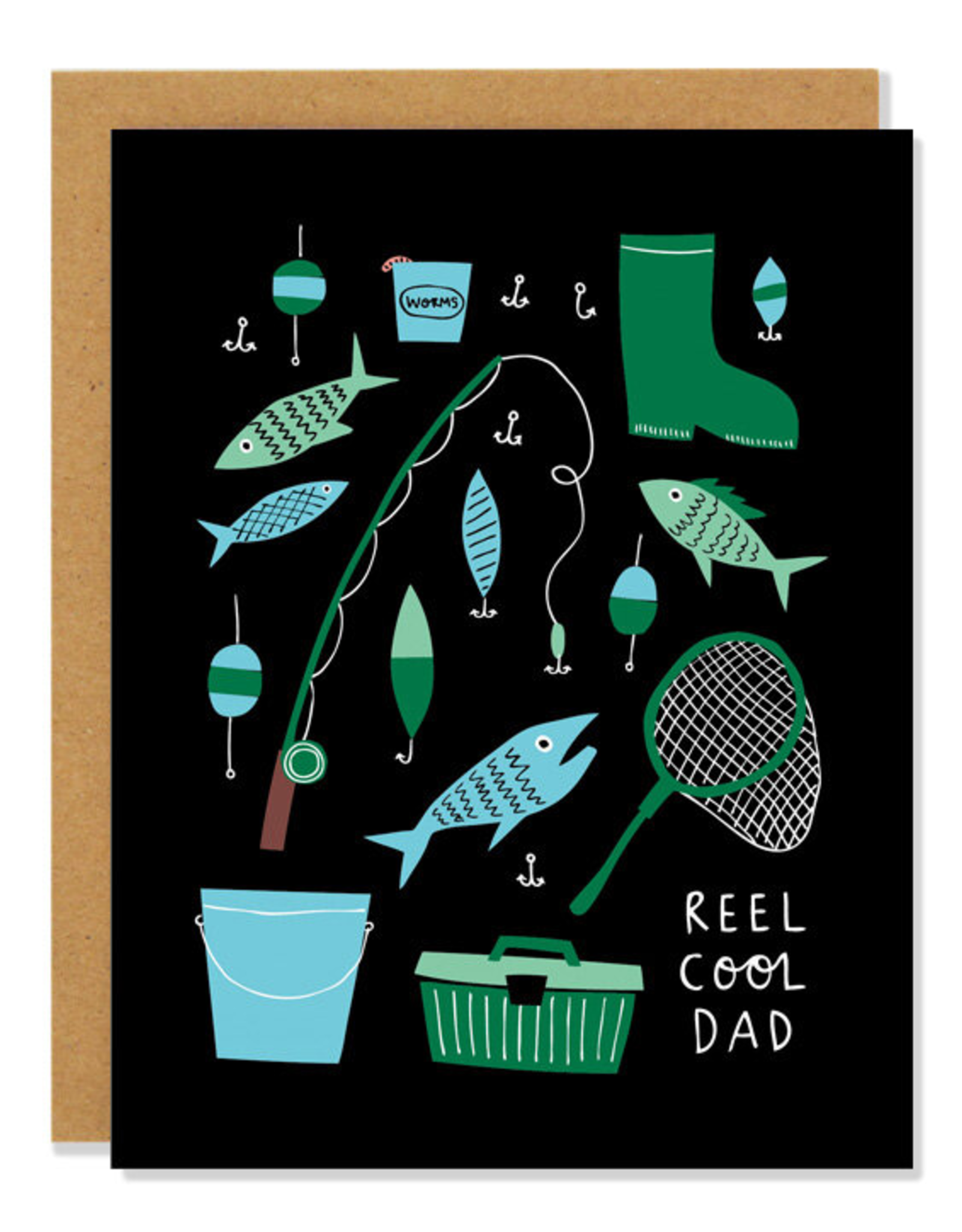 Badger & Burke Badger & Burke Reel Cool Dad Card