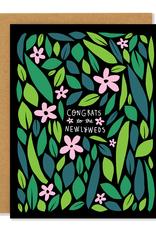 Badger & Burke Badger & Burke Wildflower Newlywed Card