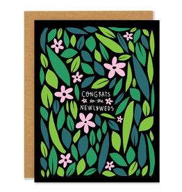 Badger & Burke Wildflower Newlywed Card