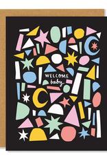 Badger & Burke Badger & Burke Welcome Baby Card