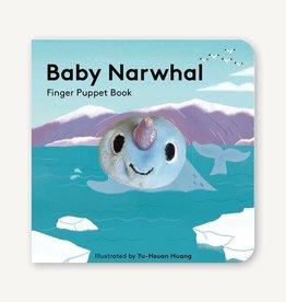 Raincoast Books Raincoast Books Baby Narwhal Finger Puppet Book