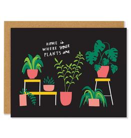 Badger & Burke Houseplants Card