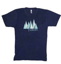 The Collective Good TCG Men's Yukon Blue Mountain Tshirt