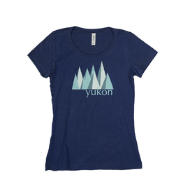 The Collective Good TCG Women's Yukon Blue Mountain Tshirt