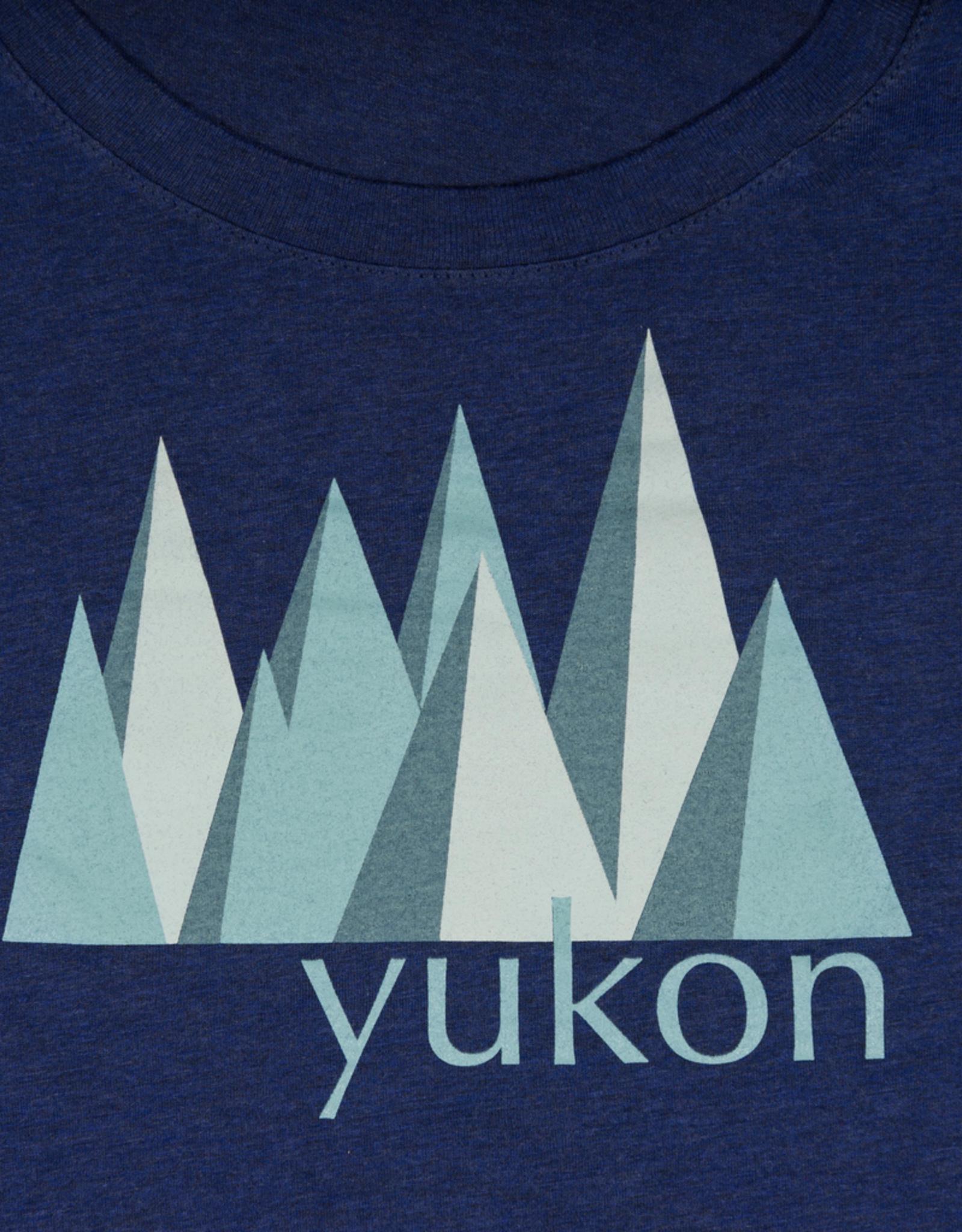 The Collective Good TCG Women's Yukon Blue Mountain Tshirt
