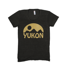 The Collective Good TCG Women's Yukon Gold Mountain Tshirt