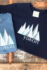 The Collective Good TCG Kid's Yukon Blue Mountain Tshirt