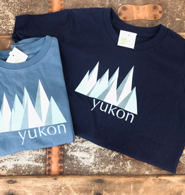 The Collective Good TCG Kid's Yukon Blue Mountain Tshirt
