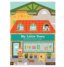 Wild & Wolf Wild & Wolf My Little Town Sticker Activity Set