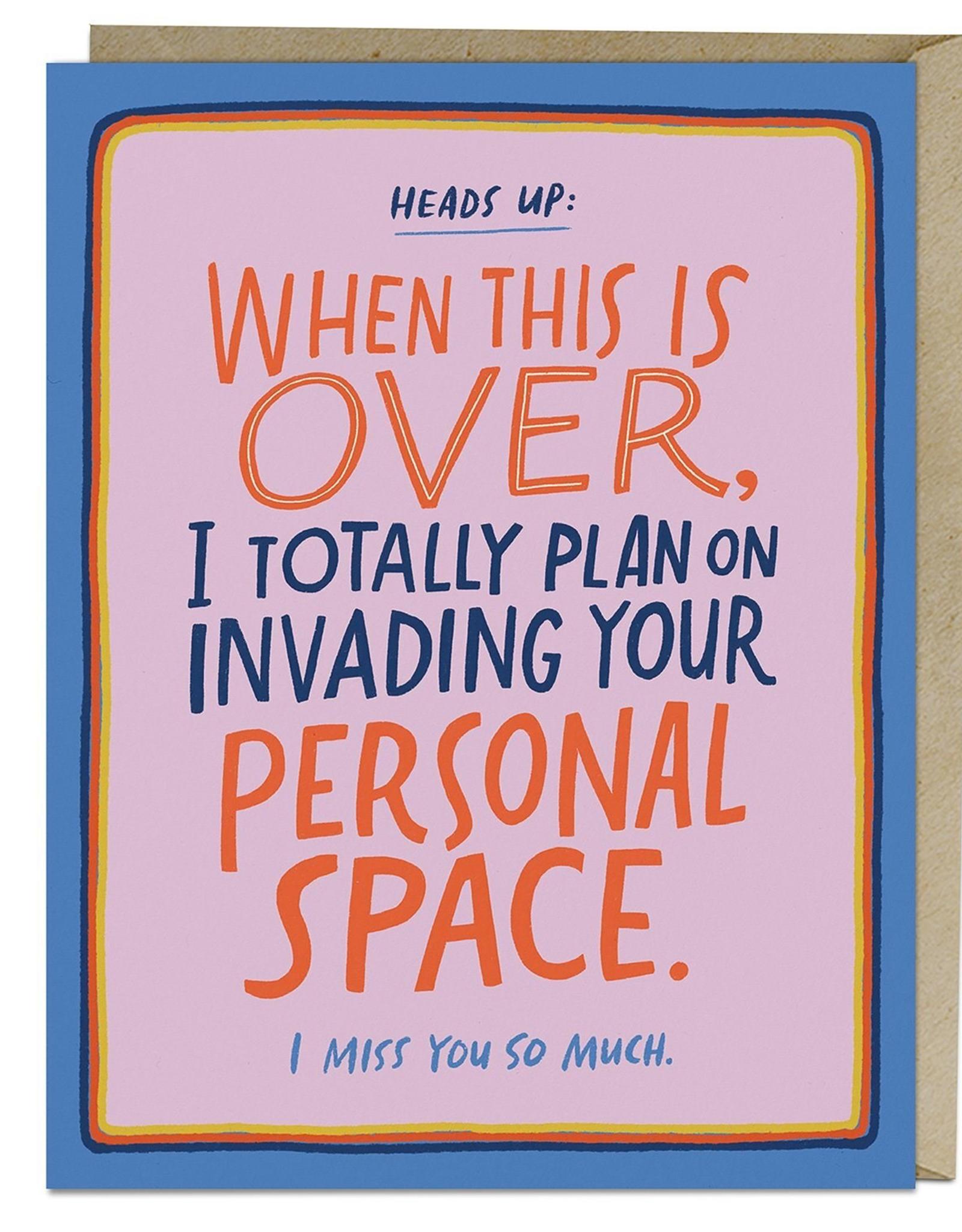 Paper E Clips Paper E Clips Personal Space Card-2839