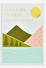 Paper E Clips Paper E Clips Take Time To Rest Card-V!D15
