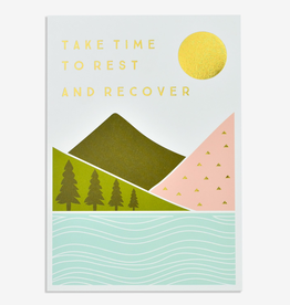 Paper E Clips Take Time To Rest Card
