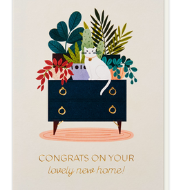 Paper E Clips Lovely New Home Card
