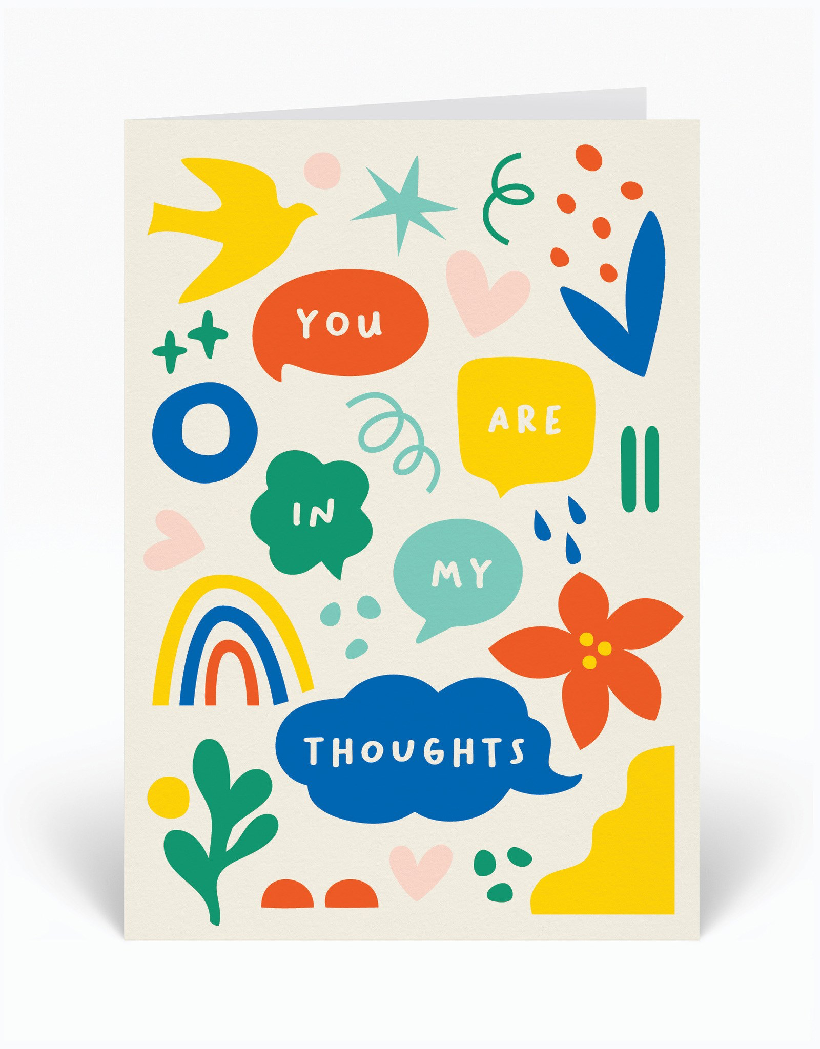 Paper E Clips Paper E Clips You Are In My Thoughts Card-HOPE13