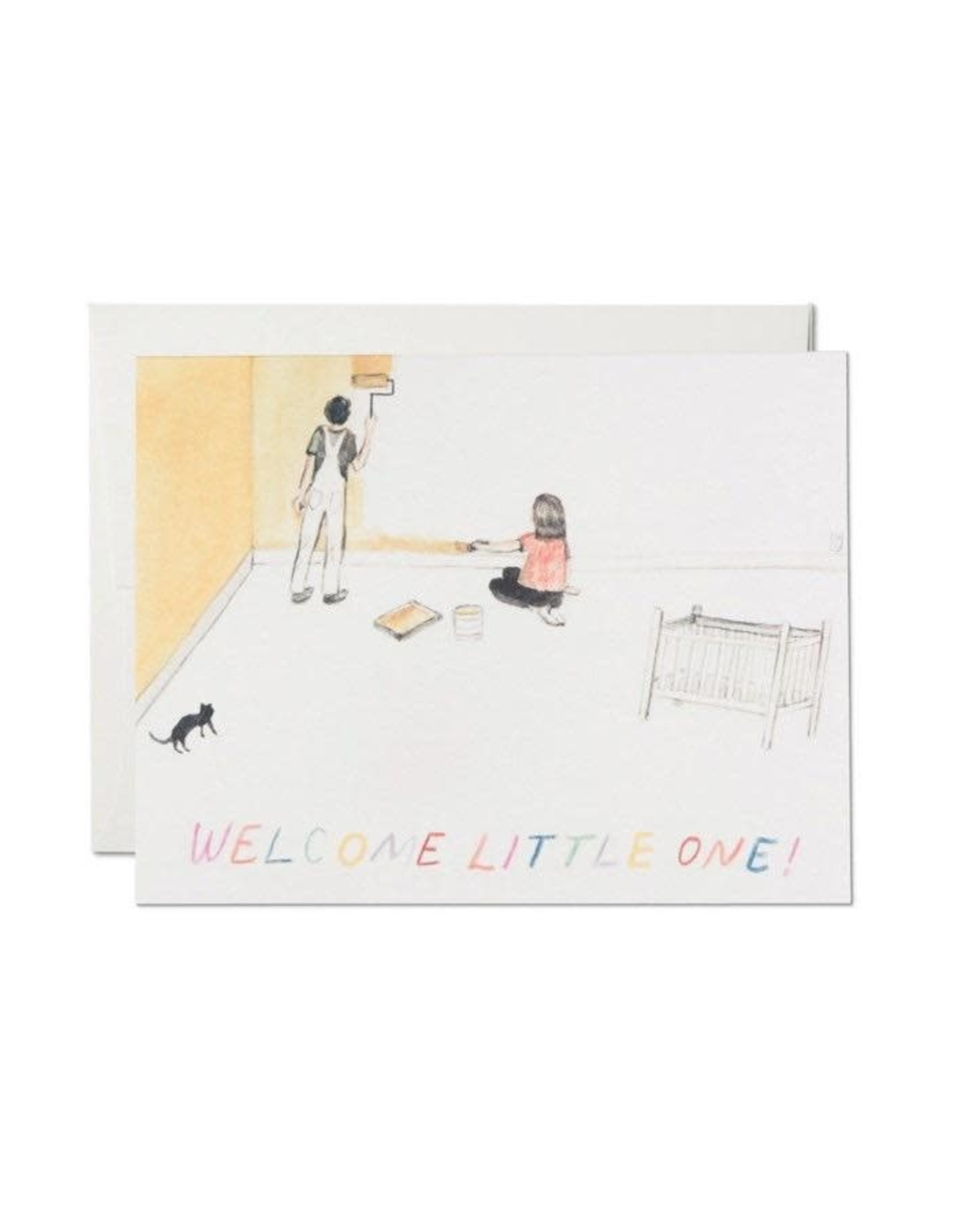 Red Cap Cards Red Cap Cards Baby's Room Baby Card-BUR1600