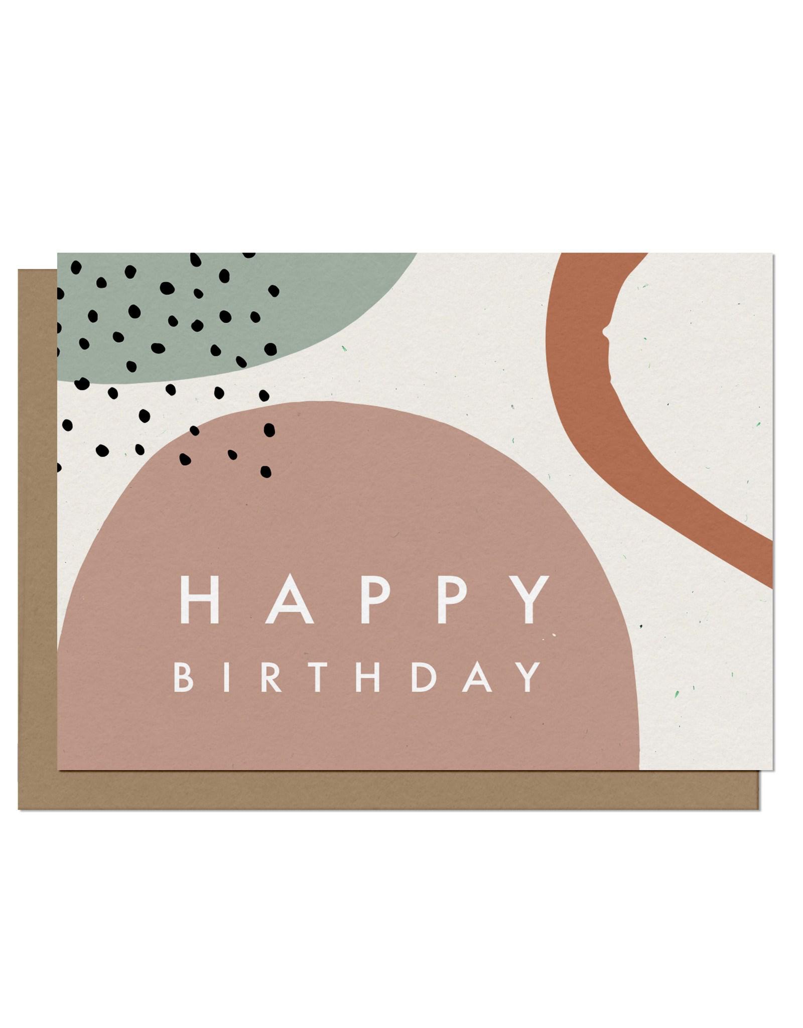 Paper E Clips Paper E Clips Happy Birthday Wishes Card-SG008