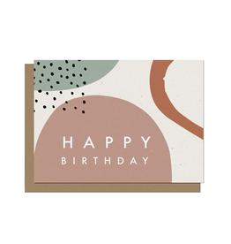 Paper E Clips Happy Birthday Wishes