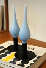 Ester & Erik Ester & Erik Drop Candle 7 Inch-Pair-Ice Blue