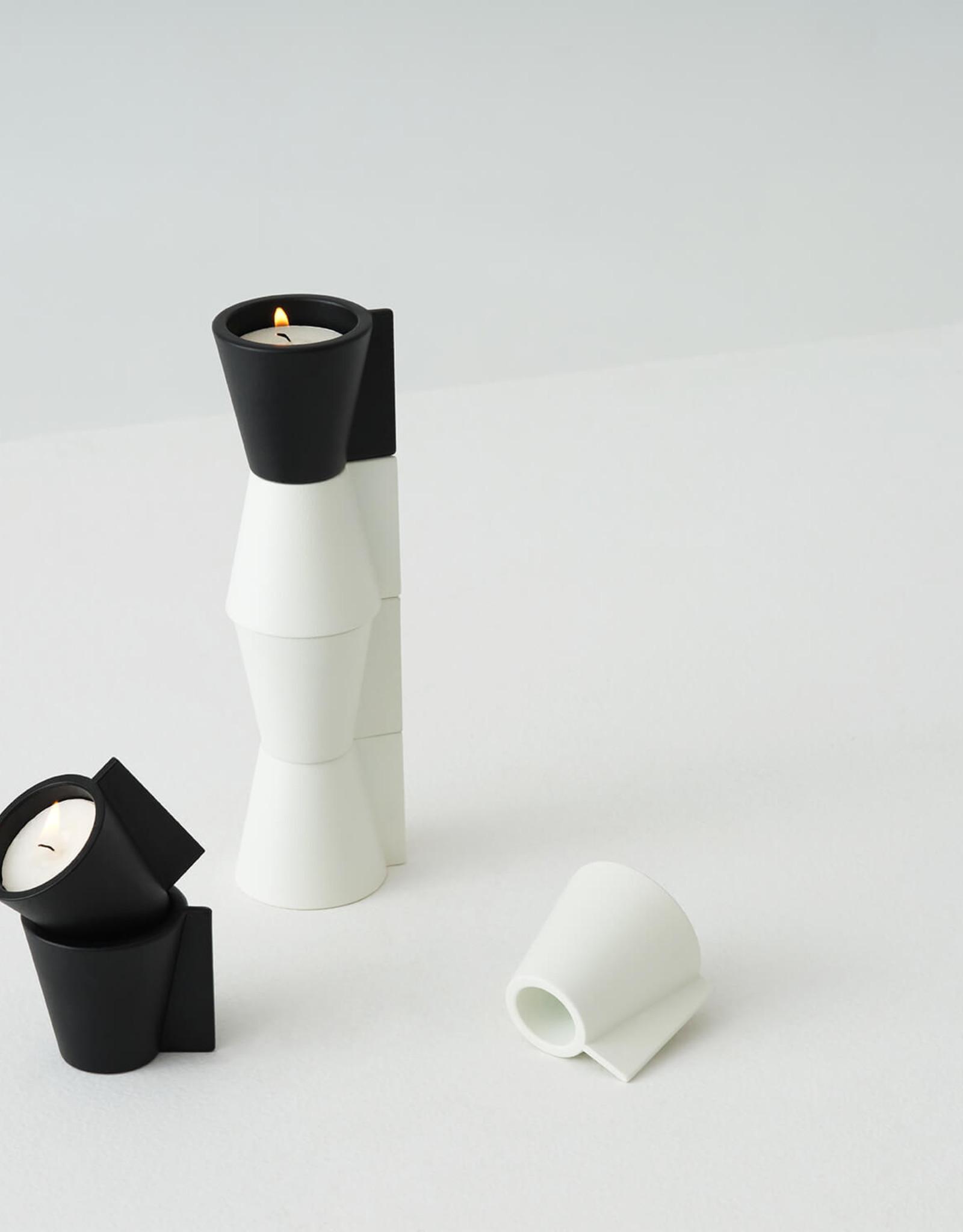 EQ3 EQ3 Pitch Candle Holder-Black