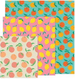 Danica Beeswax Wrap-Citrus Set 3