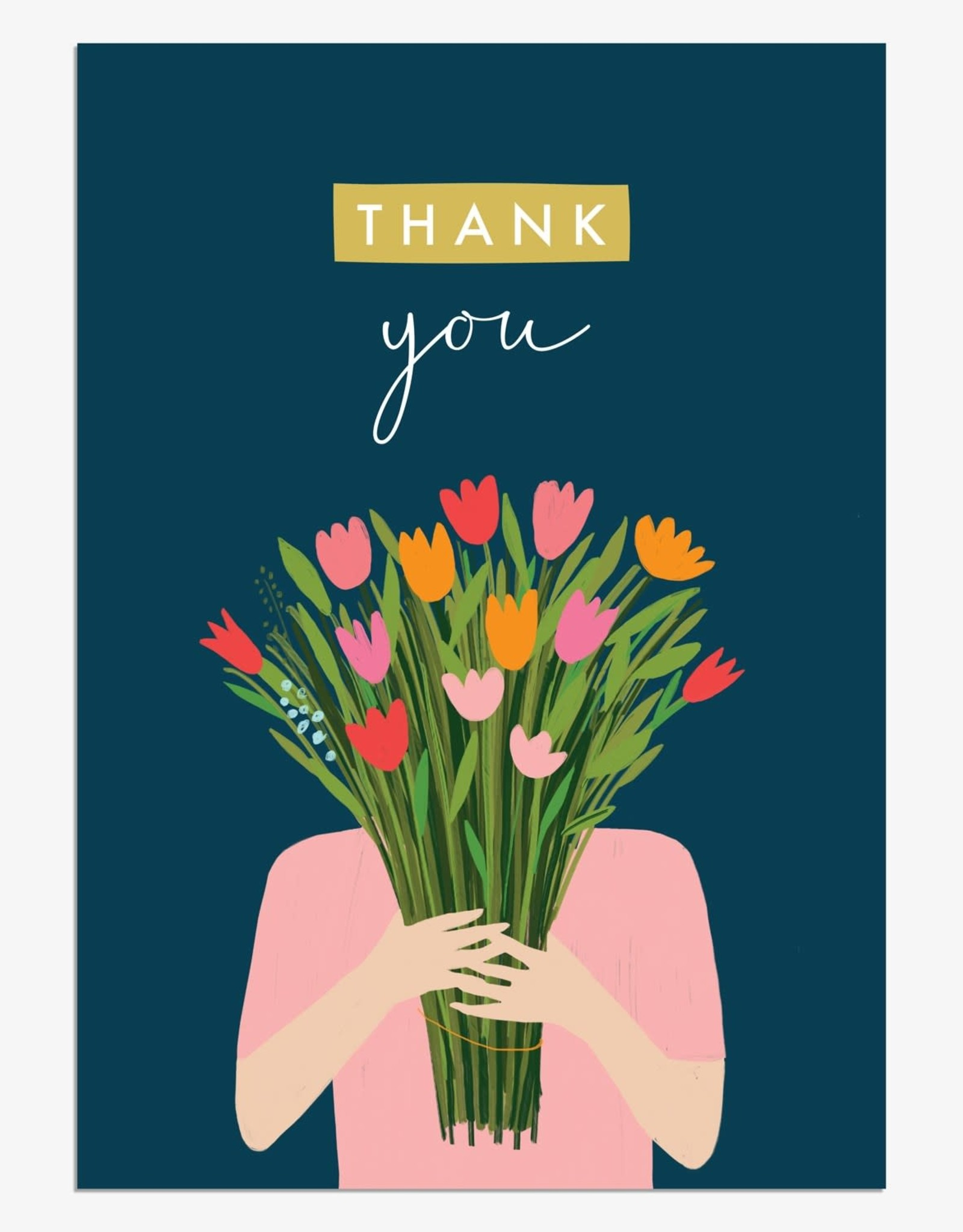 Paper E Clips Thank You Bunch Flowers