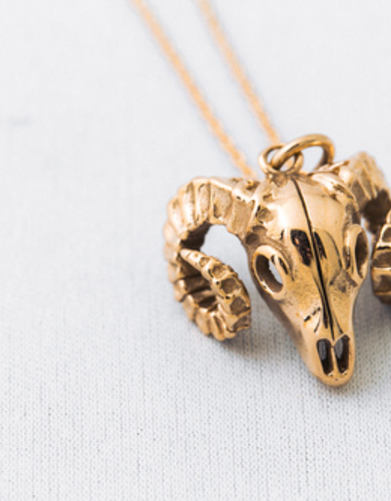 Jen Ellis Designs Jen Ellis Designs Ram Necklace