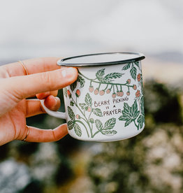 The Foragers Club The Foragers Club - Berry Picking Enamel Mug