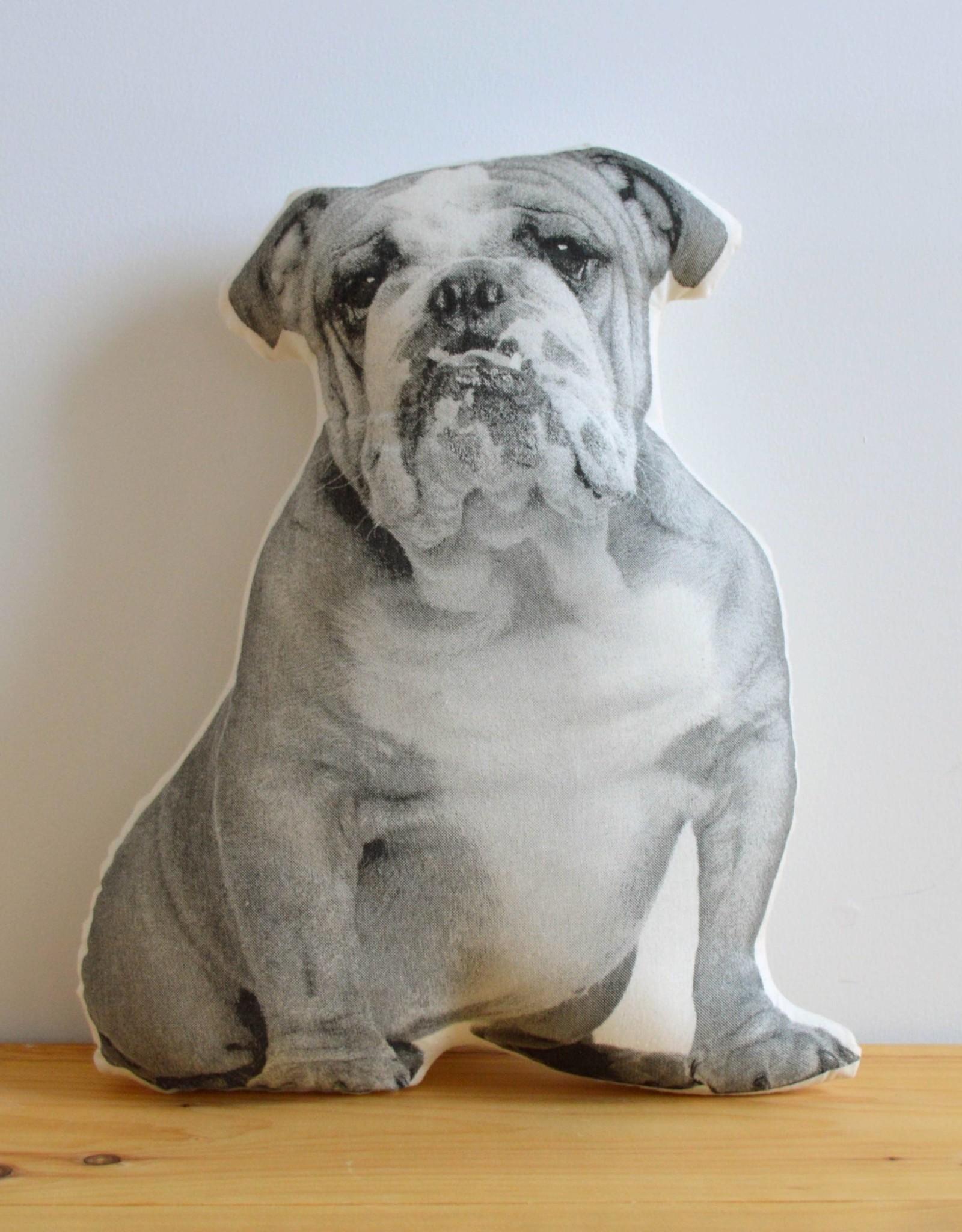 Bulldog Pillow