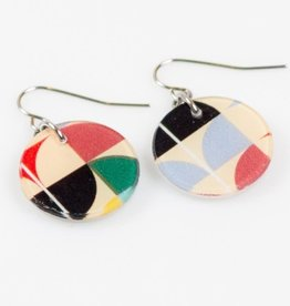 Dconstruct Eco-resin Circle Earrings - Assorted