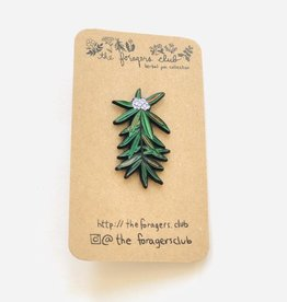 The Foragers Club The Foragers Club Labrador Tea Pin