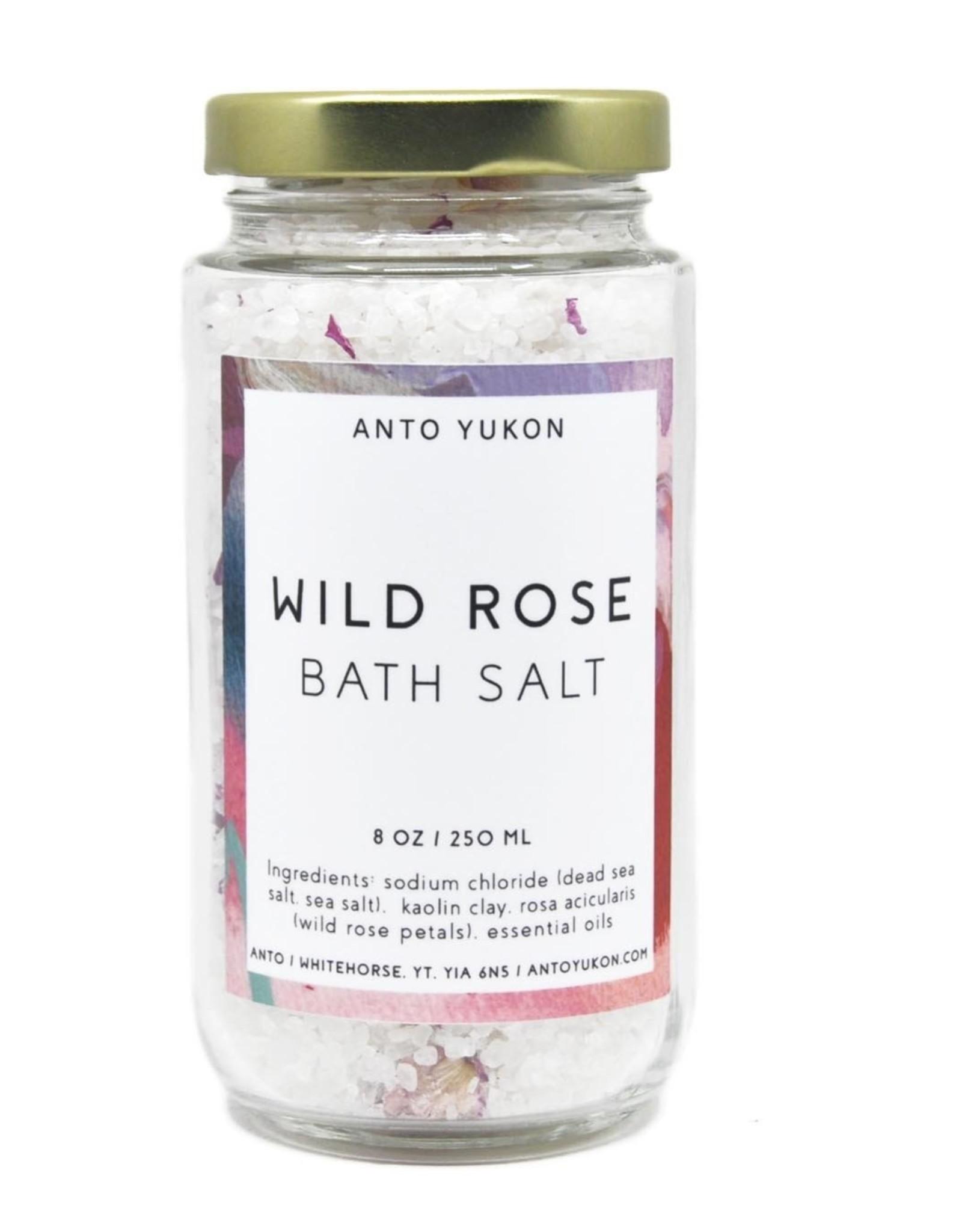 Anto Handmade Soap Anto Bath Salt- Wild Rose
