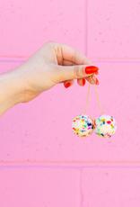 Meghan MacWhirter Pompom Earrings - Assorted Colours