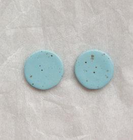Ceramic Speckle Studs - Assorted Colours