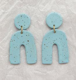 Edie Ceramic Earrings - Assorted Colours