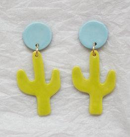 Joni Ceramic Earrings - Assorted