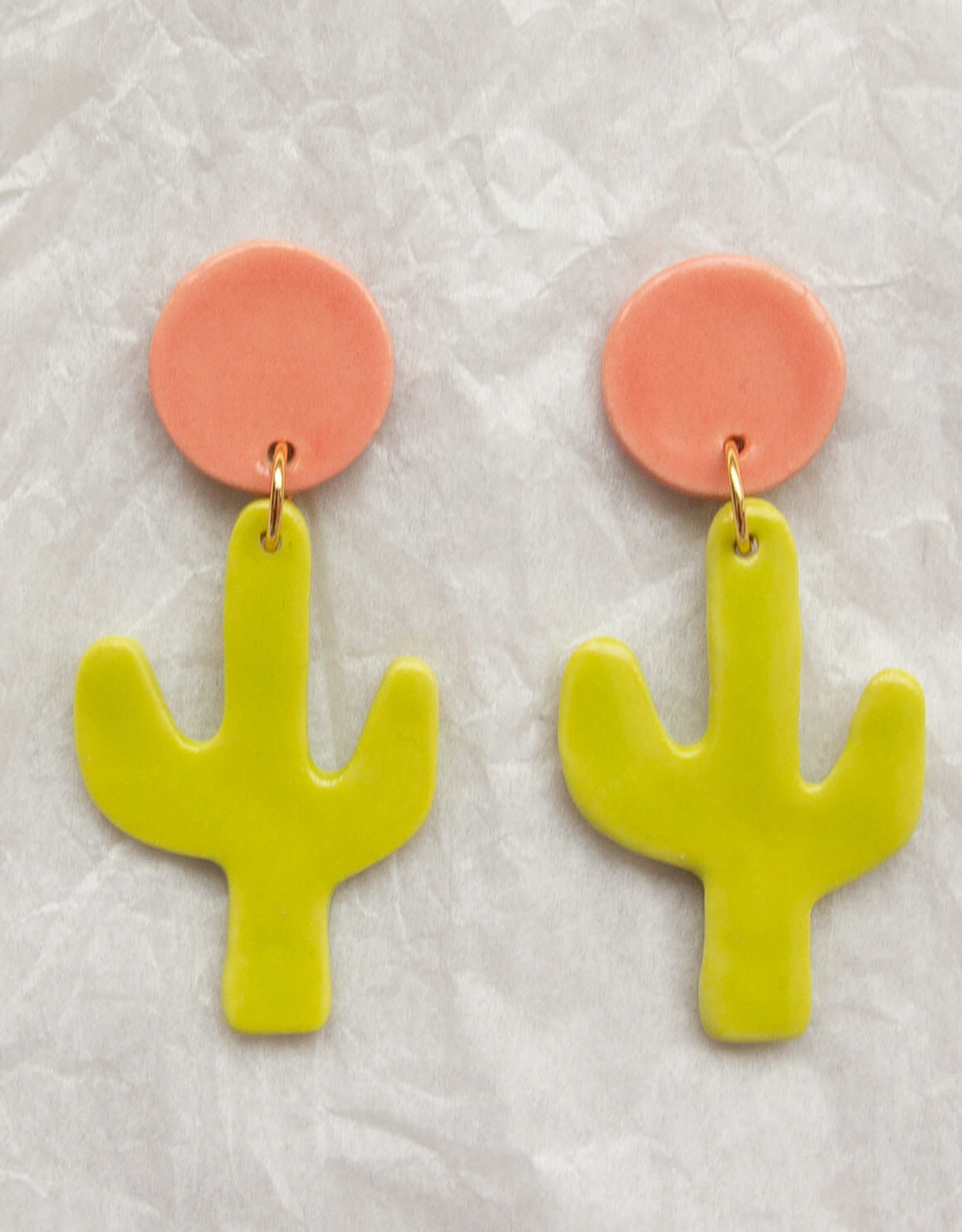 Meghan MacWhirter Joni Ceramic Earrings - Assorted