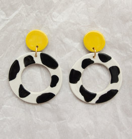 Dolly Ceramic Earrings - Assorted
