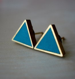 Moonlight for Violet Triangle Studs - Assorted Colours